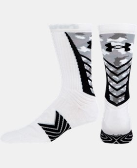 Men's UA Undeniable Camo Crew Socks