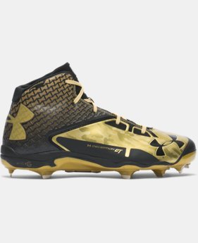 Men's UA Deception Mid DiamondTips Baseball Cleats  3 Colors $82.99