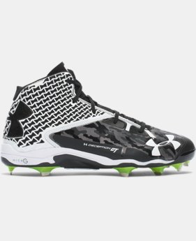 Men's UA Deception Mid DiamondTips Baseball Cleats — All-Star Game Edition  1 Color $129.99