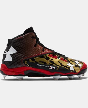 Men's UA Deception Mid DiamondTips Baseball Cleats