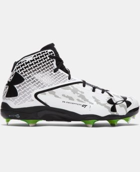 Men's UA Deception Mid DiamondTips Baseball Cleats  2 Colors $129.99