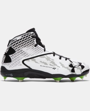 Men's UA Deception Mid DiamondTips Baseball Cleats — All-Star Game Edition LIMITED TIME: FREE SHIPPING 2 Colors $129.99