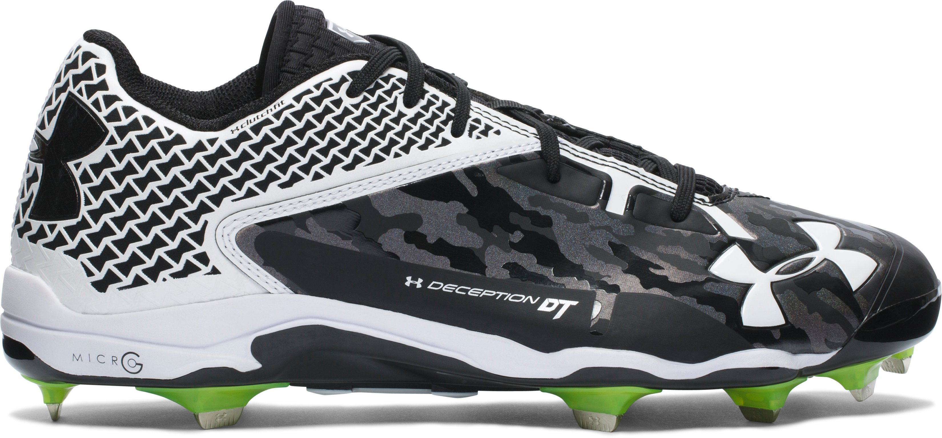 Men's UA Deception Low DiamondTips Baseball Cleats — All-Star Game Edition, Black , undefined