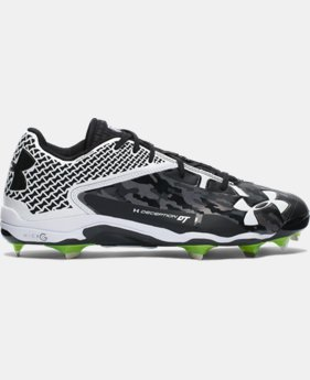 Men's UA Deception Low DiamondTips Baseball Cleats  5 Colors $74.99