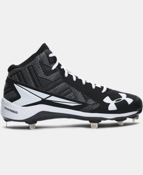 Men's UA Yard Mid ST Baseball Cleats  1 Color $53.99