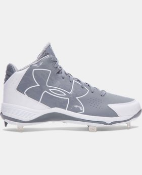 Men's UA Ignite Mid Baseball Cleats LIMITED TIME: FREE SHIPPING 1 Color $52.99