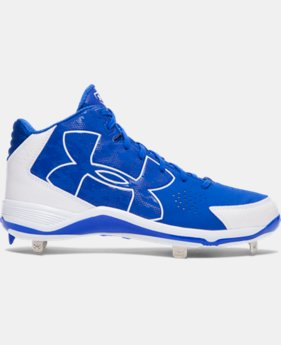 Men's UA Ignite Mid Baseball Cleats LIMITED TIME: FREE U.S. SHIPPING 1 Color $52.99