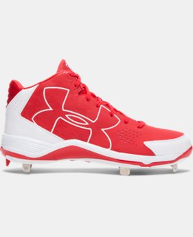 Men's UA Ignite Mid Baseball Cleats  1 Color $41.99