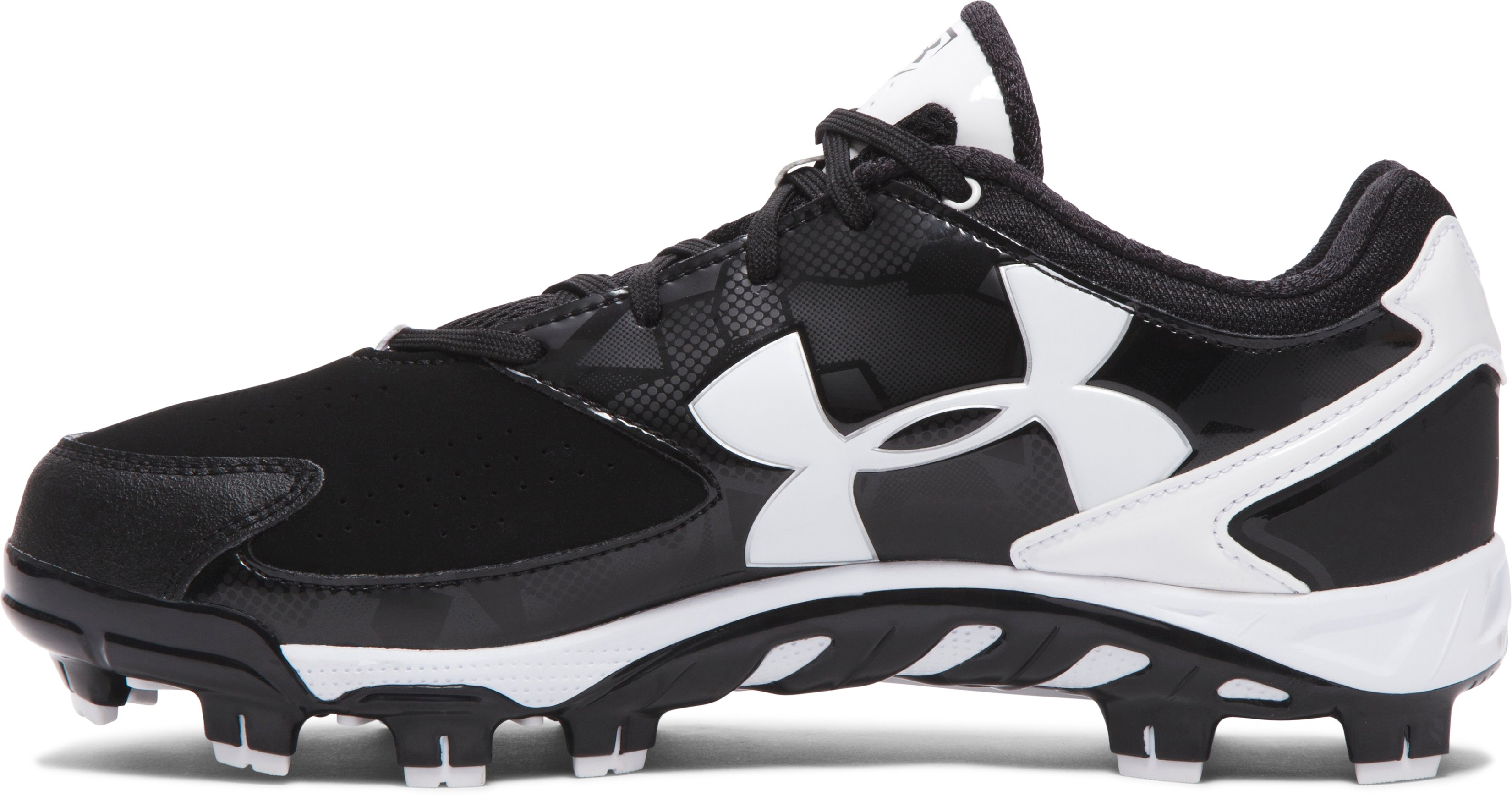 Women's UA Spine™ Glyde TPU Softball Cleats, Black