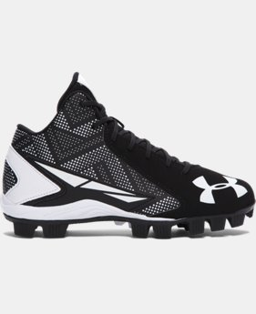 Boys' UA Leadoff Mid Jr. Baseball Cleats LIMITED TIME: FREE U.S. SHIPPING  $34.99