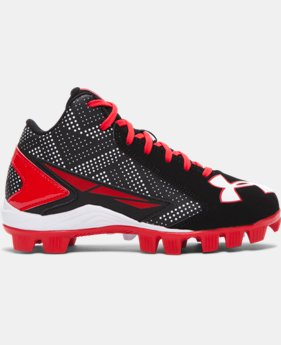 Boys' UA Leadoff Mid Jr. Baseball Cleats