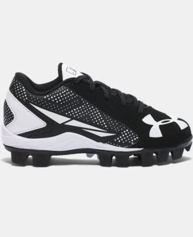 Kids' UA Leadoff Low RM Jr. Baseball Cleats  2 Colors $33.99
