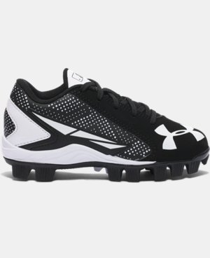 Kids' UA Leadoff Low RM Jr. Baseball Cleats  5 Colors $22.99