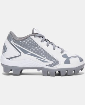 Kids' UA Leadoff Low RM Jr. Baseball Cleats LIMITED TIME: FREE U.S. SHIPPING 1 Color $22.99