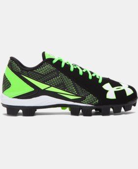 Kids' UA Leadoff Low RM Jr. Baseball Cleats  1 Color $20.99