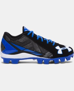 Kids' UA Leadoff Low RM Jr. Baseball Cleats   $22.99