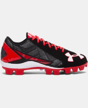 Kids' UA Leadoff Low RM Jr. Baseball Cleats  1 Color $33.99