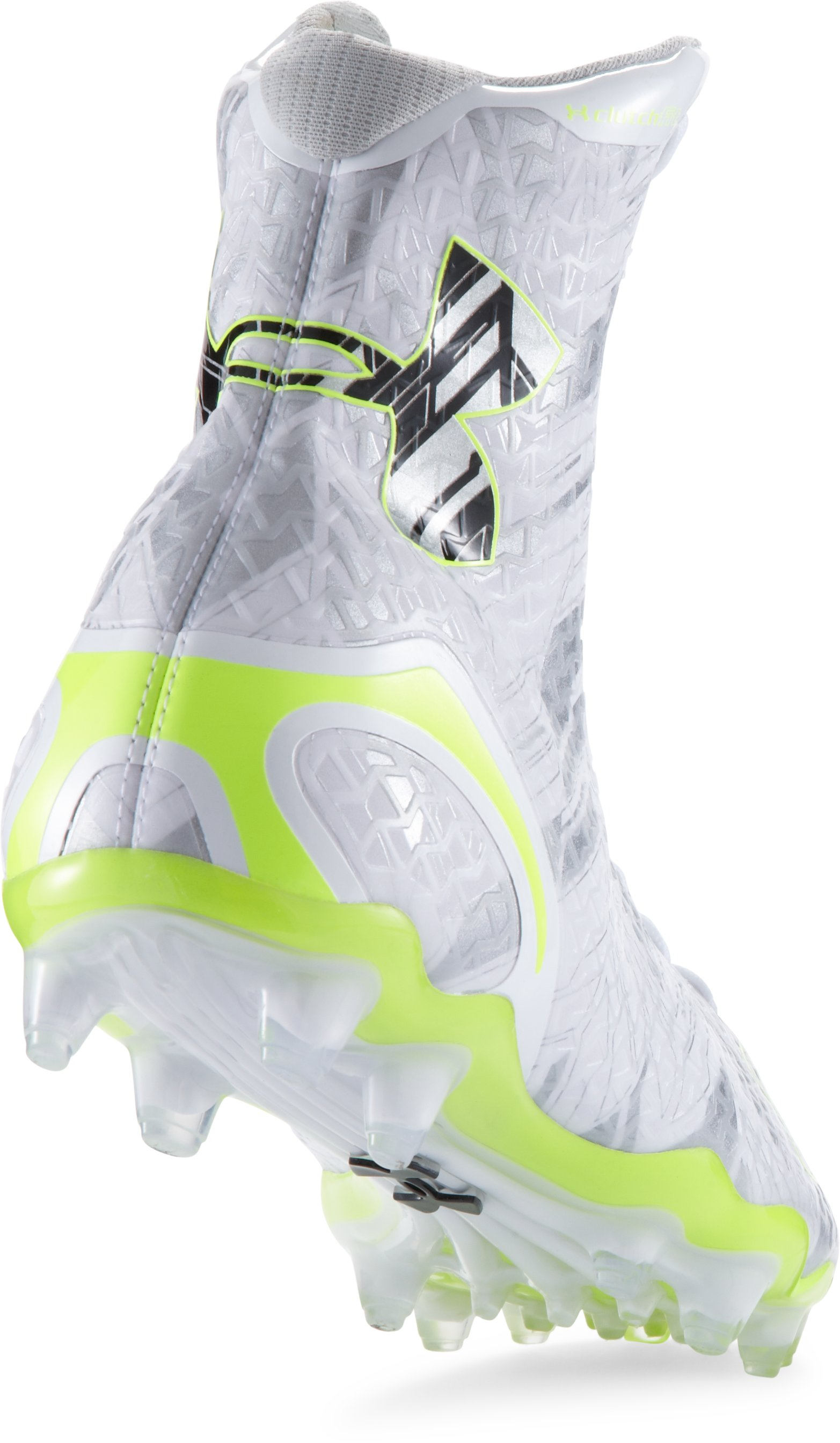 Men's UA Highlight MC Lacrosse Cleats, White