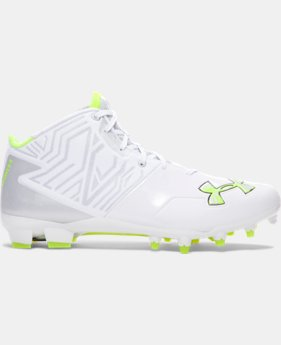 Men's UA Banshee Mid MC Lacrosse Cleats LIMITED TIME: FREE U.S. SHIPPING 3 Colors $67.49