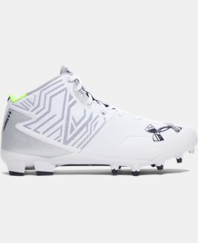 Men's UA Banshee Mid MC Lacrosse Cleats