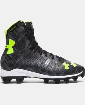 Kids' UA Highlight RM Jr. Lacrosse Cleats  1 Color $54.99