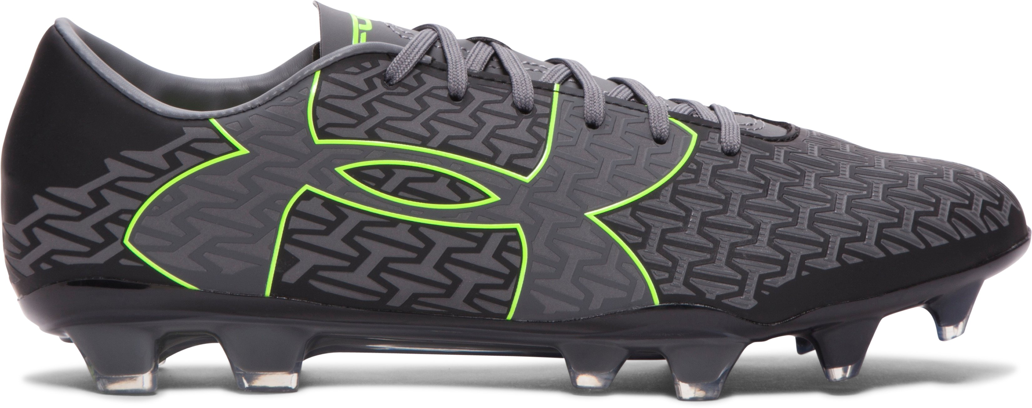 Men's UA Corespeed Force 2.0 FG Soccer Cleats, Black , zoomed image