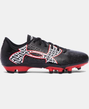 Boys' UA ClutchFit™ Force 2.0 FG Jr. Soccer Cleats LIMITED TIME: FREE U.S. SHIPPING 1 Color $33.99