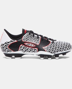 Boys' UA ClutchFit™ Force 2.0 FG Jr. Soccer Cleats  1 Color $54.99