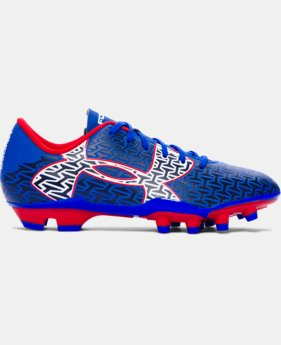 Boys' UA ClutchFit™ Force 2.0 FG Jr. Soccer Cleats  1 Color $33.99