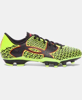 Boys' UA ClutchFit™ Force 2.0 FG Jr. Soccer Cleats