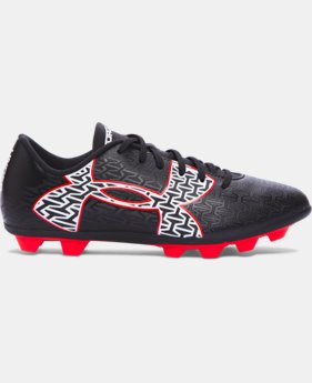 Boys' UA ClutchFit™ Force 2.0 HG Jr. Soccer Cleats  1 Color $19.99
