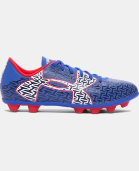 Boys' UA ClutchFit™ Force 2.0 HG Jr. Soccer Cleats LIMITED TIME: FREE SHIPPING 1 Color $39.99