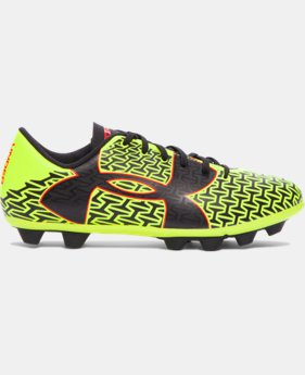 Boys' UA ClutchFit™ Force 2.0 HG Jr. Soccer Cleats