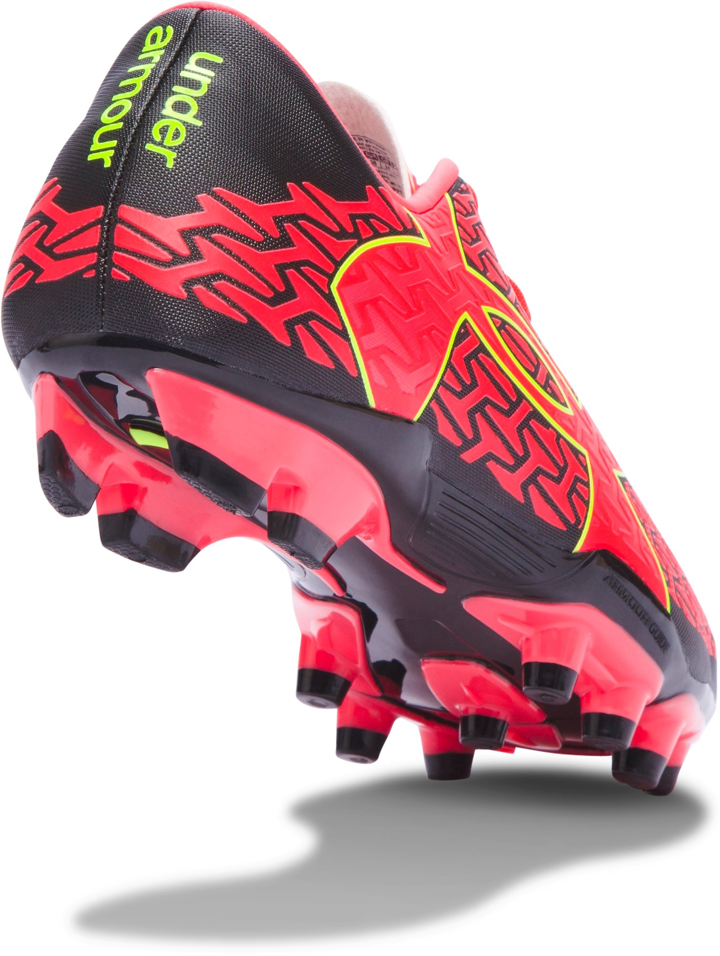 Women's UA CF Force 2.0 FG Soccer Cleats, Black ,