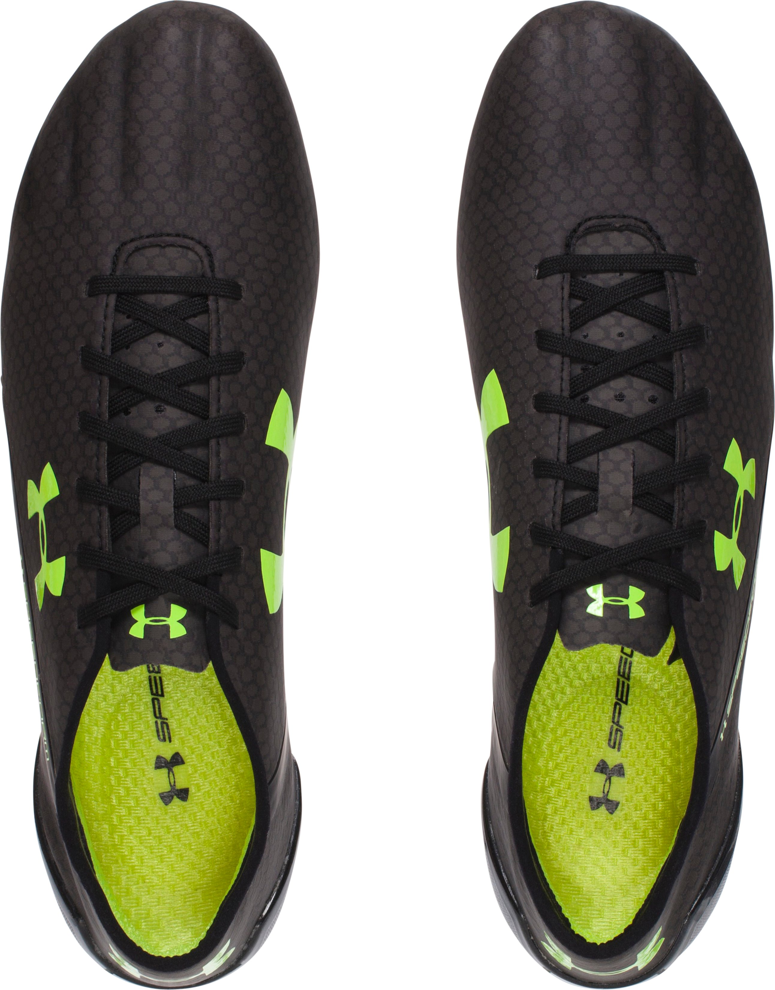 Men's UA SpeedForm® CRM FG Soccer Cleats, Black