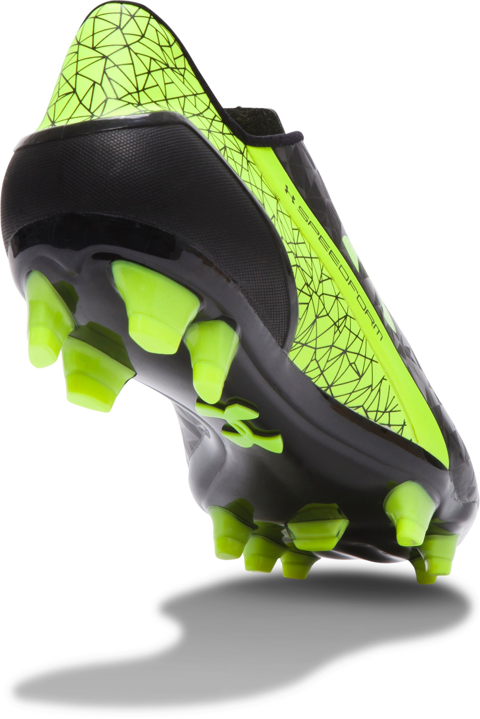 Men's UA SpeedForm® FG Soccer Cleats, Black