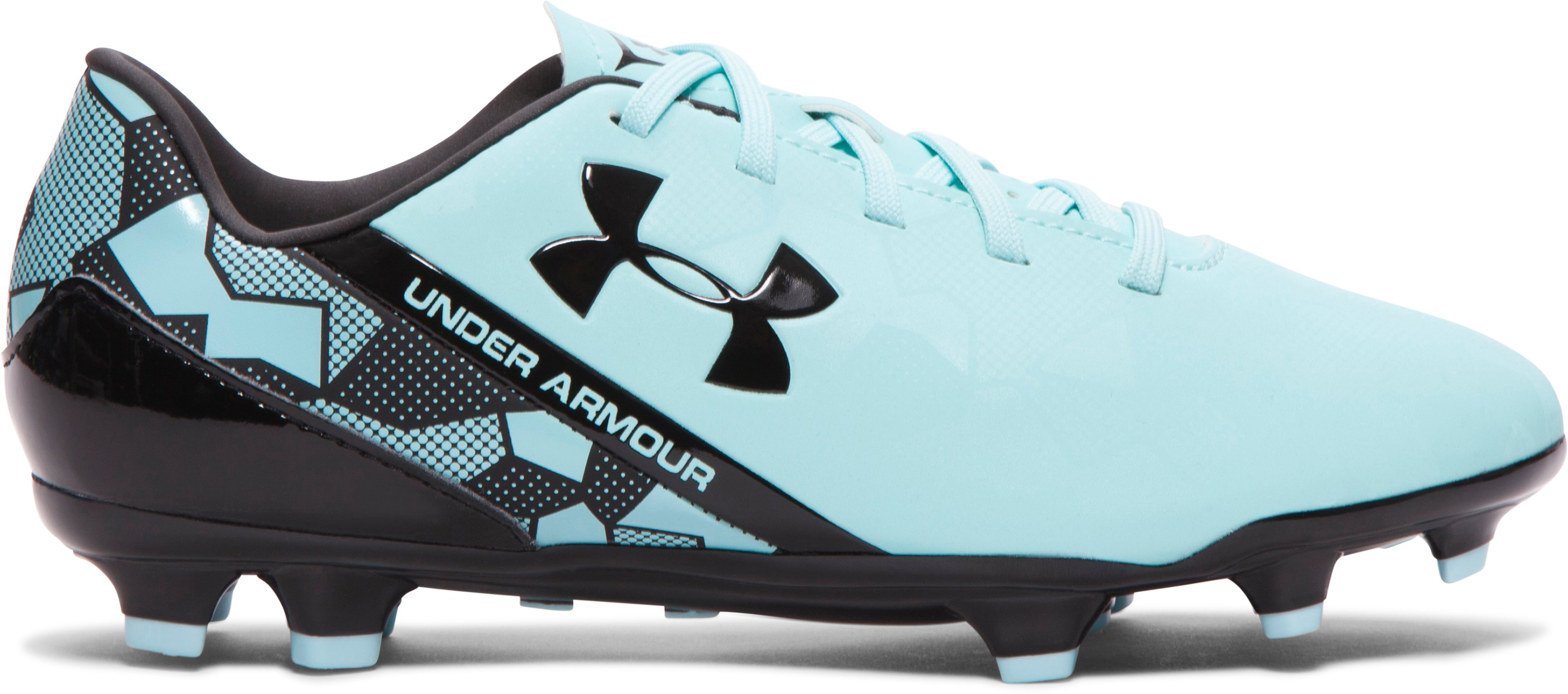 Women's UA SF Flash FG Soccer Cleats, Veneer, zoomed image