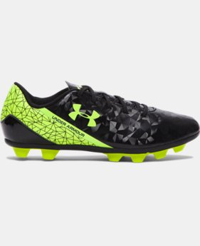 Kids' UA SF Flash HG Jr. Soccer Cleats