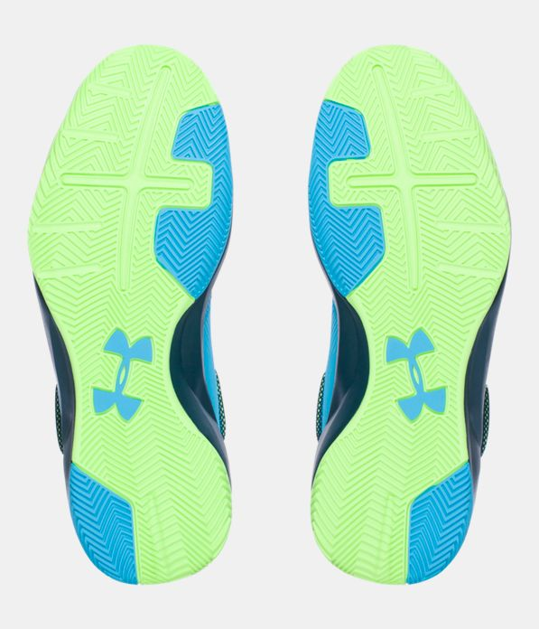 Girls Girls Teal Under Armour Shoes Basketball