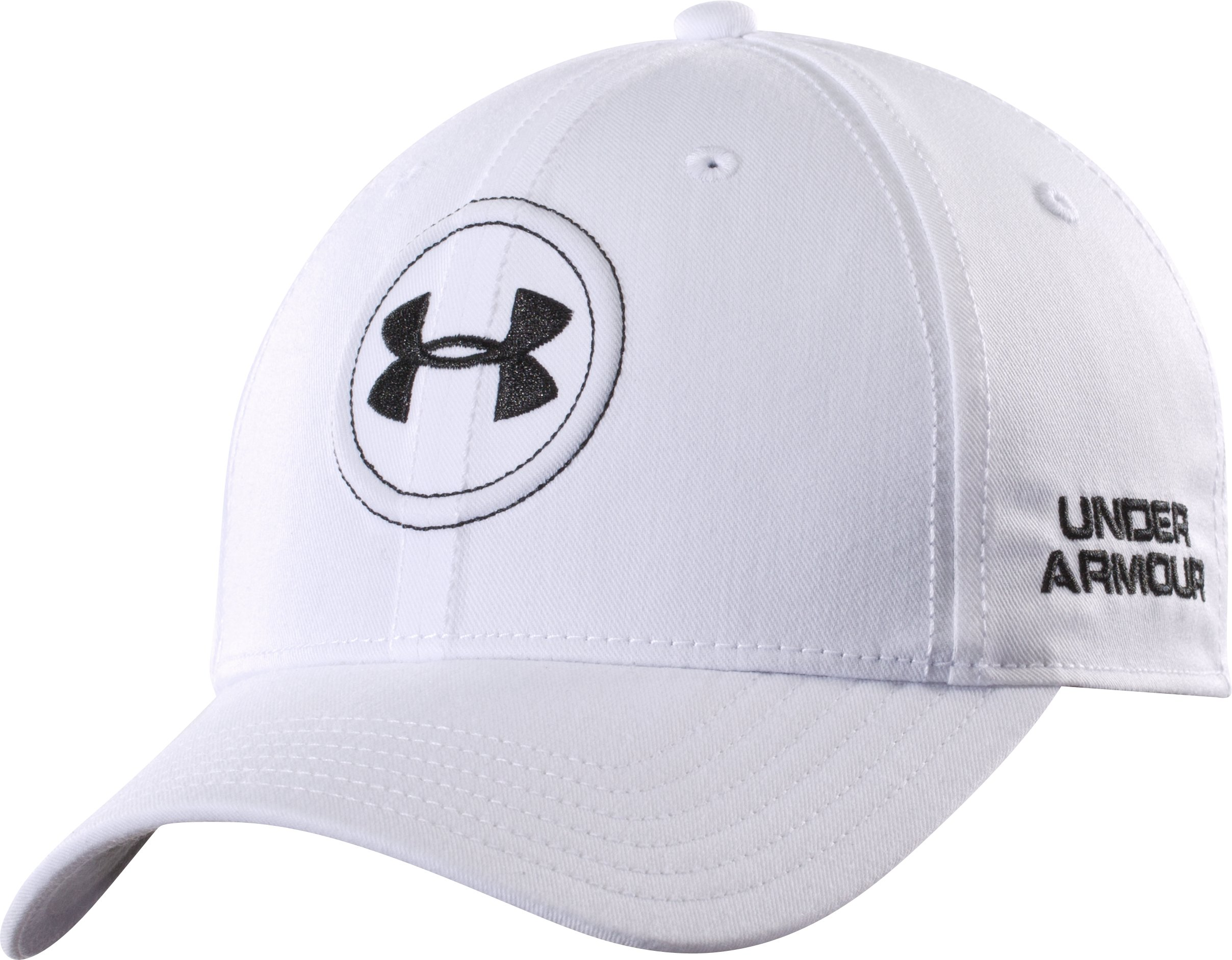 Men's UA Golf Official Tour Cap, White, zoomed image