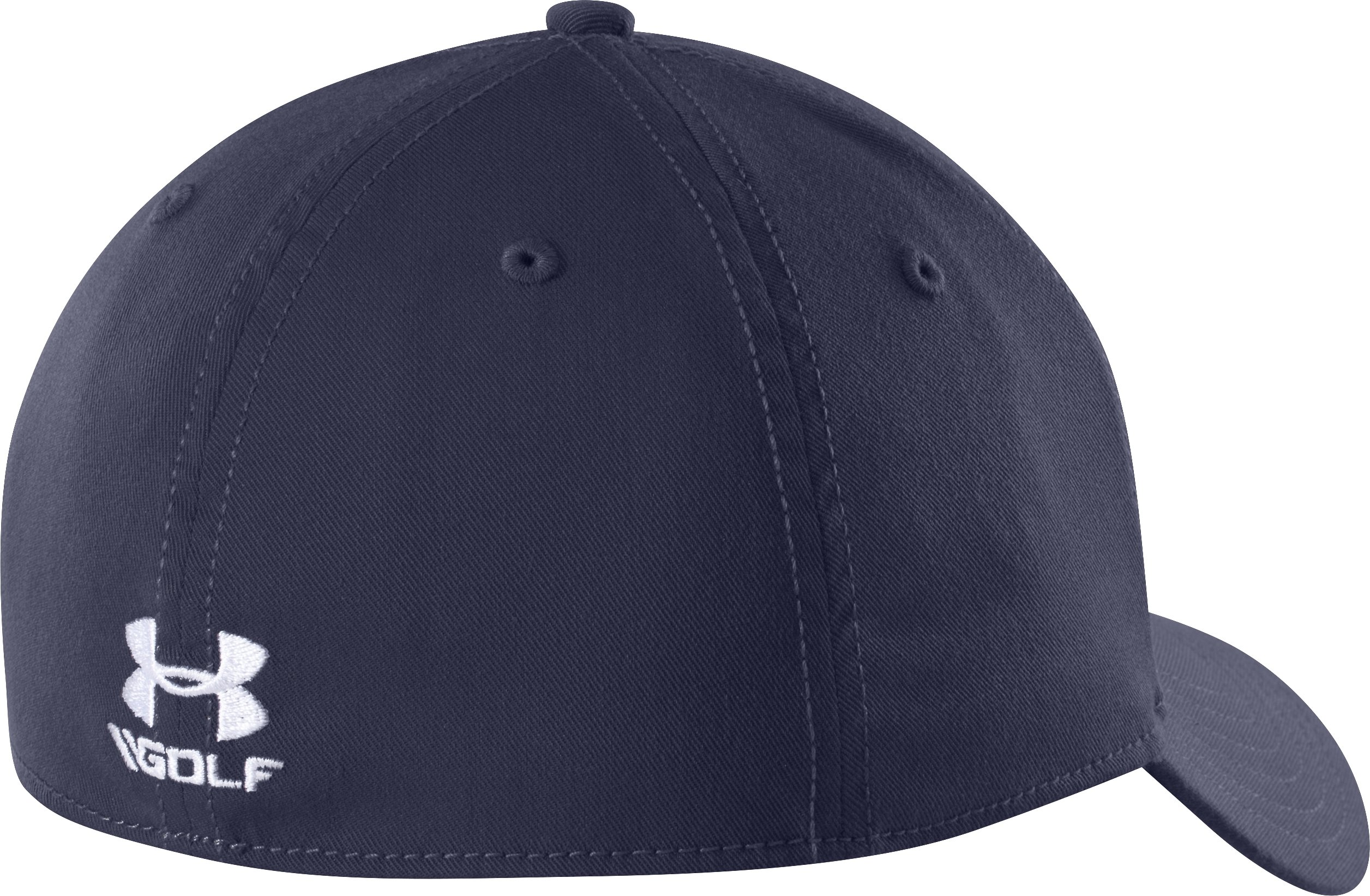 Men's UA Golf Official Tour Cap, Midnight Navy
