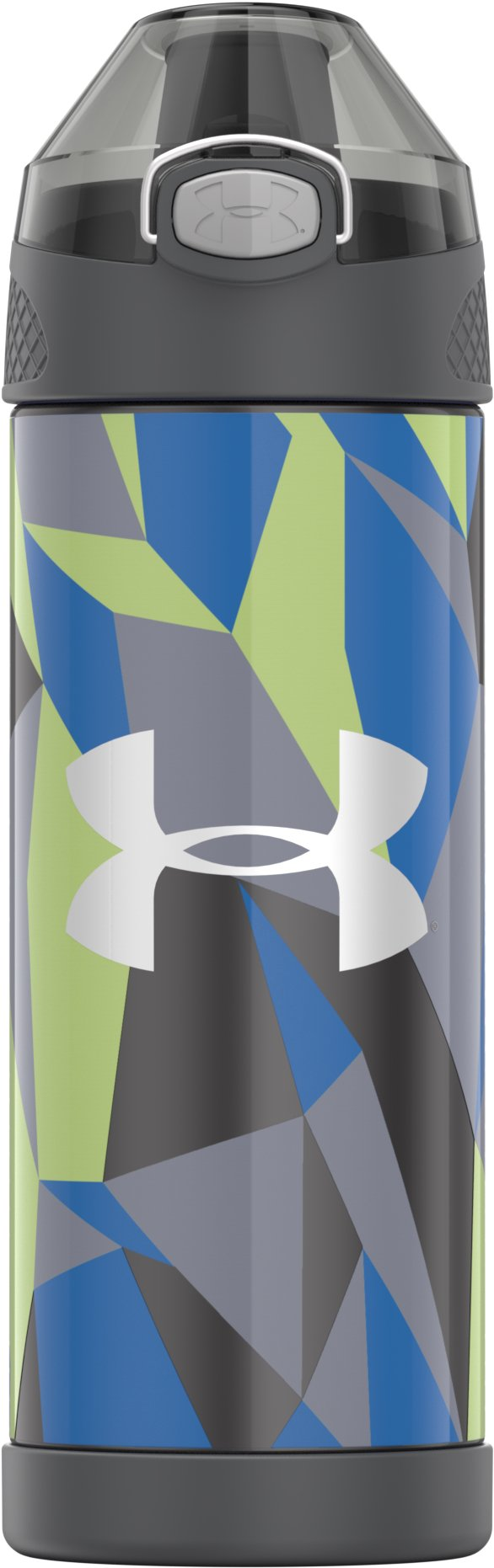 Beyond 16 oz. Vacuum Insulated Stainless Steel Water Bottle, Gray