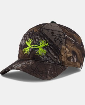 Men's UA Hunt HeatGear® Camo Stretch Fit Cap  1 Color $29.99