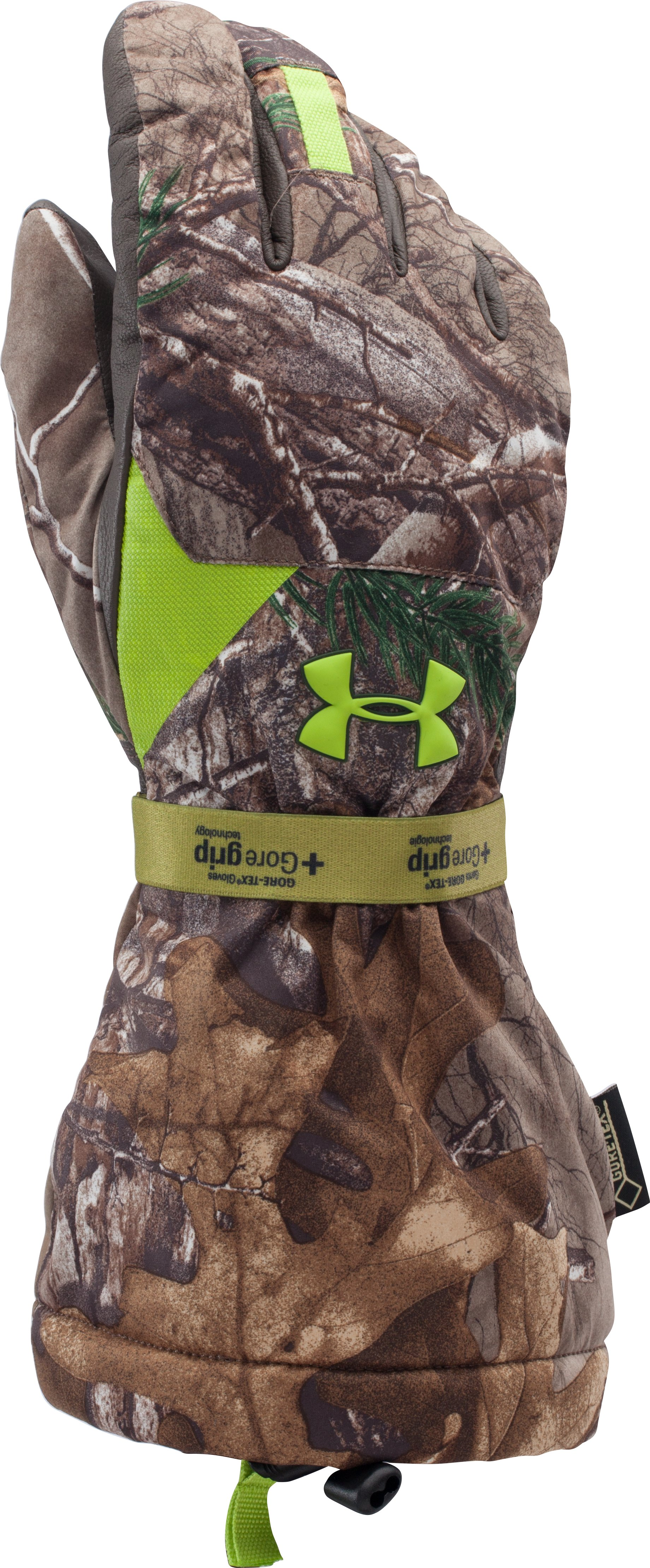 Men's UA Scent Control GORE-TEX® Insulator Gloves, REALTREE AP-XTRA, zoomed image