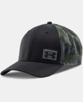 Men's UA Night Vision Low Crown Mesh Cap