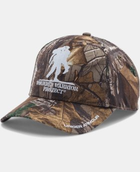 Men's UA Hunt Camo WWP Cap  1 Color $29.99