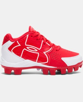 Kids' UA Clean Up Low RM Baseball Cleats  1 Color $29.99
