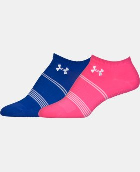 2-Pack Women's UA Grippy III No Show Socks 2-Pack   $13.99
