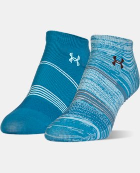 Women's UA Grippy III No Show Socks 2-Pack  3 Colors $14