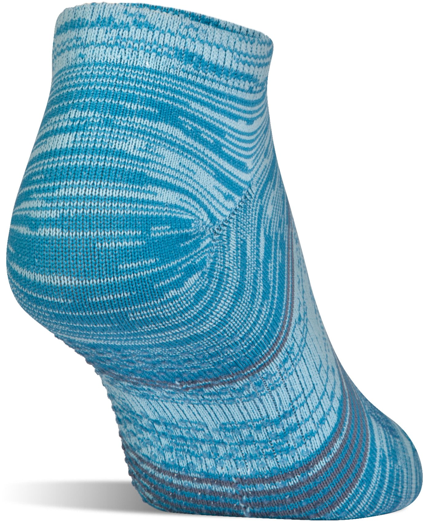 Women's UA Grippy III No Show Socks 2-Pack, BAYOU BLUE,
